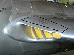 "De Havilland Vampire 3 • <a style=""font-size:0.8em;"" href=""http://www.flickr.com/photos/81723459@N04/48489740957/"" target=""_blank"">View on Flickr</a>"