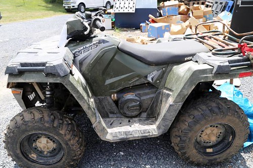 2017 Polaris sportsman 450 4 wheeler ($3,024.00)