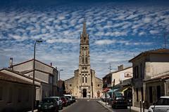 Eglise de Vendays-Montalivet (L'Teigneux) Tags: 2019 aquitaine france gironde médoc vendaysmontalivet church nouvelleaquitaine summer vacances église été cloud sky