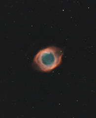 The Helix Nebula (AstroBackyard) Tags: space stars sky night astronomy telescope nebula helix planetary hubble astrophotography filter gas colorful color cosmos universe