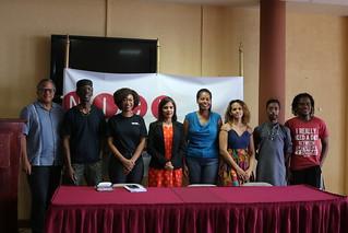 Introduction of 2019 CARIFESTA Belize Contingent