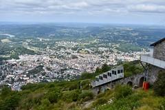 Lourdes (Pic du Jer) - Funiculaire - 31/07/19 (Jérémy P.) Tags: lourdes tarbeslourdespyrénées hautespyrénées occitanie funiculaire funiculairedupicdujer cabine