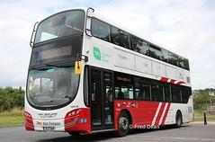 Bus Eireann VWD45 (151C7999). (Fred Dean Jnr) Tags: buseireann volvo b5tl wright eclipse gemini3 vwd45 151c7999 carrigaline cork august2019 buseireannroute220