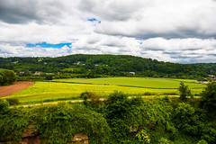 Views from a Castle wall (Geordie_Snapper) Tags: canon5d4 canon2470mm clearwell cloudywithsomesun glouscestershire goodrichcastle june landscape summer theforestofdean