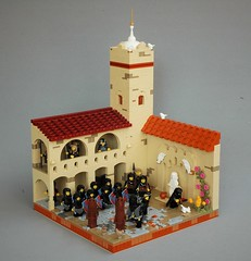 Mophet training ground (adde51) Tags: adde51 lego moc kaliphlin mophet guildsofhistorica rooftechnique window architecture windowtechnique soldier soldiers training tower trainingground
