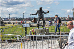 Billy Fury - Liverpool Waterfront (oldnikonian) Tags: nikon2470 nikond810 liverpool merseyside