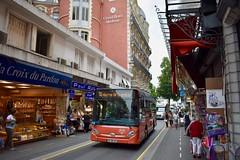 Lourdes - HeuliezBus GX 127 - 04/08/19 (Jérémy P.) Tags: lourdes tarbeslourdespyrénées hautespyrénées occitanie caralliance carallianceactl heuliez bus gx127 ruepiétonne