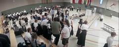 World Naginata Championship 2019 (rrrisotto) Tags: horizonperfekt 35mm panoramic swinglens naginata wiesbaden