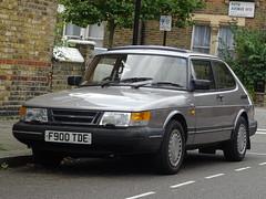 1989 Saab 900i (Neil's classics) Tags: 1989 saab 900i 1985cc