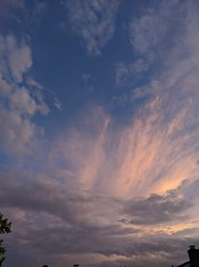August 3, 2019 - Cool clouds to end the day. (Jessica Bloom)