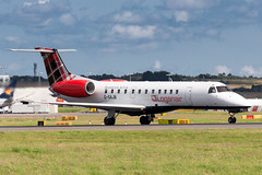 Loganair ERJ135 (Martyn Cartledge / www.aspphotography.net) Tags: plane airplane fly flying airport edinburgh aircraft aviation air flight jet aeroplane civil airline edi airliner aero airfield embraer loganair erj135 gsajb photography wings transport asp wwwaspphotographynet flywinglets
