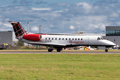 Loganair ERJ135 (Martyn Cartledge / www.aspphotography.net) Tags: plane airplane photography fly flying airport wings edinburgh aircraft aviation air transport flight jet aeroplane civil airline asp edi airliner aero airfield embraer loganair erj135 wwwaspphotographynet gsajb flywinglets