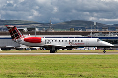 Loganair ERJ135 (Martyn Cartledge / www.aspphotography.net) Tags: plane airplane fly flying airport wings edinburgh aircraft aviation air transport flight jet aeroplane civil airline edi airliner aero airfield embraer loganair erj135 wwwaspphotographynet gsajb photography asp flywinglets