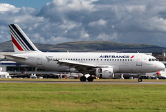 Air France A319 (Martyn Cartledge / www.aspphotography.net) Tags: plane airplane photography fly flying airport wings edinburgh aircraft aviation air transport flight jet aeroplane civil airline airbus asp edi airliner aero airfrance airfield a319 fgrxa wwwaspphotographynet flywinglets