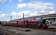 45699 (Chris Strange) Tags: 45699 galatea west coast railway company scarborough spa express steam train heritage mainline lms stanier jubilee 5xp york