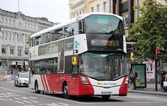 Bus Eireann VWD62 (172C4388). (Fred Dean Jnr) Tags: stpatricksstreetcork bus buseireannroute205 cork buseireann volvo b5tl wright eclipse gemini3 vwd62 172c4388 august2019 wrightbus