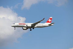 Swiss HB-JCG LHR 05/08/19 (ethana23) Tags: planes aviation avgeek aeroplane aircraft airplane airbus a220 a220300 swiss