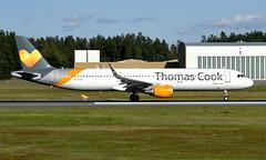 Thomas Cook OY-TCH,  OSL ENGM Gardermoen (Inger Bjørndal Foss) Tags: oytch thomascook airbus a321 osl engm gardermoen