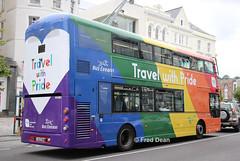 Bus Eireann VWD43 (151C7164). (Fred Dean Jnr) Tags: buseireannroute215 cork buseireann bus volvo b5tl wright eclipse gemini3 vwd43 151c7164 august2019 pride lgbt transportforireland tfi alloverad