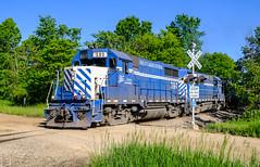 GLC 390 North, Vernon, MI (Cdr. McBragg) Tags: 390 glc gp35 crossing