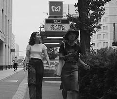 Toranomon Station (Bill Morgan) Tags: fujifilm fuji xpro2 35mm f14 bw alienskin exposurex45 jpeg acros