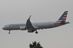American Airlines A321-253NX (N406AN) LAX Approach 2 (hsckcwong) Tags: americanairlines a321253nx a321neo n406an lax klax