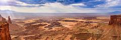 Canyonlands National Park (vahidss9) Tags: utah summer moab dead point state park canyonlands national clouds sky rocks landscape fine art panorama canyonlandsnationalpark canyon wideangle fineart