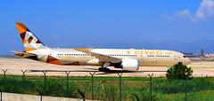 Boeing 787-9 Dreamliner. Etihad Airways. A6-BLO. Aeropuerto de Barcelona (bertanuri bcn) Tags: boeing 7879 dreamliner etihad airways a6blo aeropuerto barcelona cat avion airplane samsung s10
