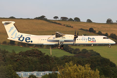 G-ECOA_13 (GH@BHD) Tags: gecoa bombardier dhc8 dhc8402q dasheight flybe belfastcityairport dehavilland be bee turboprop aircraft aviation airliner bhd egac