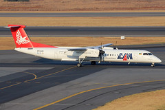 "C9-AUL | DHC-8-402Q | LAM - Linhas Aéreas de Moçambique ""Gorongosa"" (cv880m) Tags: gorongosa johannesburg jnb ortambo tambo southafrica rsa africa aviation airliner airline aircraft airplane airport spotter spotting planespotting turboprop c9aul dehavilland bombardier canada dehavillandcanada dhc dash8 dhc8 q400 dhc8400 402q dh8 lam mozambique linhasaéreasdemoçambique propliner"