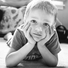 (RubyT (I come here for cameraderie!)) Tags: fujifilmxt30 fujicron27 черноеибелое grandson boy portrait blackandwhite bw nb bn mono monocromo monochrome schwarzweiss noiretblanc blancoynegro