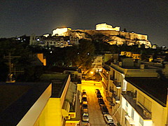 Acropolis at Night (dimaruss34) Tags: newyork brooklyn dmitriyfomenko image sky greece athens acropolis ruins nightsky night street buildigs cars
