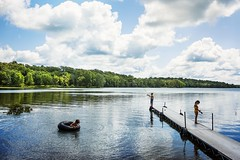 Our every day this summer. Making the most of living in lake country. (Elizabeth Sallee Bauer) Tags: