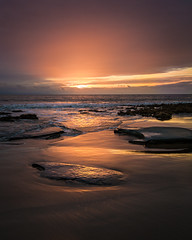 Nash Point Golden Sunset (Dom W Photography) Tags: nashpoint sunset seascape southwales heritagecoast