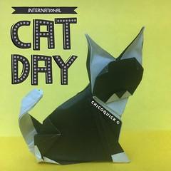 Origami Extra! Cat by @origamipapercraft #おりがみ #夏 #Origami #Paper #Foldedbyme #Foldoftheday #Instaorigami #Summer #Cat #猫 #InternationalCatDay #Aug #08 #2019 #ElParaiso #Caracas #Venezuela #日本 #中國 #대한민국 #Uk #Deutsche #Россия #Ελλάς #Française #chicoquick (chicoquick) Tags: おりがみ 夏 origami paper foldedbyme foldoftheday instaorigami summer cat 猫 internationalcatday aug 08 2019 elparaiso caracas venezuela 日本 中國 대한민국 uk deutsche россия ελλάσ française chicoquick