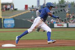 Mejia rounding 3rd (Minda Haas Kuhlmann) Tags: sports baseball milb minorleaguebaseball pacificcoastleague omahastormchasers nebraska omaha papillion sarpycounty outdoors erickmejia