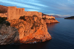 Lovrijenac - Dubrovnik, Croatia (russ david) Tags: dubrovnik croatia adriatic sea old town balkans architecture grad republika hrvatska republic travel november 2018 sunset lovrijenac fort st lawrence fortress