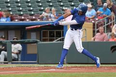 Mejia with a hit (Minda Haas Kuhlmann) Tags: sports baseball milb minorleaguebaseball pacificcoastleague omahastormchasers nebraska omaha papillion sarpycounty outdoors erickmejia