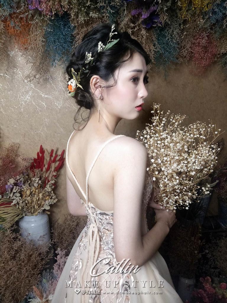 【新秘Catlin】新娘造型創作 / 仙女甜美造型