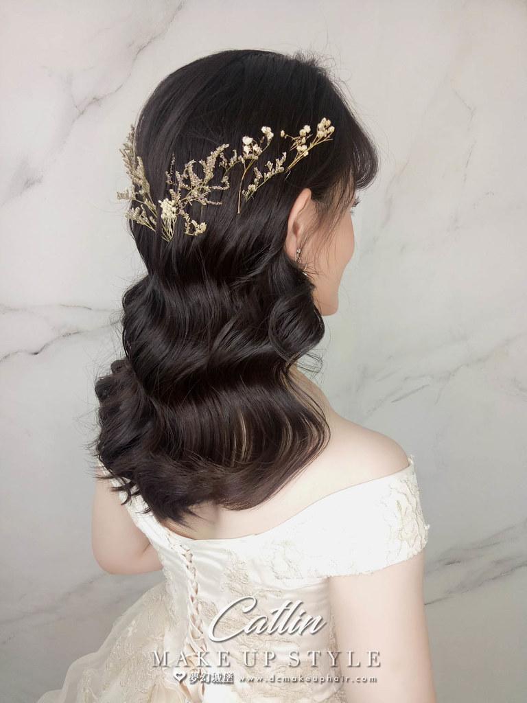 【新秘Catlin】新娘造型創作 / 浪漫甜美造型