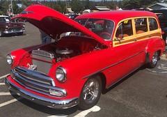 Chevrolet Station Wagon (Hugo-90) Tags: laconner wa washington car auto show antique classic vehicle chevrolet chevy station wagon