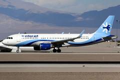 Interjet | Airbus A320-200 | XA-GAC | Las Vegas McCarran (Dennis HKG) Tags: interjet mexico 4o aij aircraft airplane airport plane planespotting canon 7d 100400 lasvegas mccarran klas las airbus a320 airbusa320 sharklets xagac