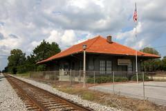 Maplesville, AL train depot (SeeMidTN.com (aka Brent)) Tags: maplesville al alabama chiltoncounty depot station bmokdepot southernrailroad southernrailway al22 bmok
