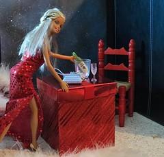 Barbie the perfect Hostess (marieschubert1) Tags: barbiedoll mattelbarbiedolls charityevent diybarbiedollclothing