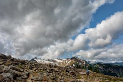 Looking for Mount Baker (KPortin) Tags: clouds mountbakernationalforest photography mountains boulders