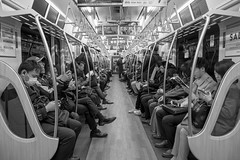 Tokyo Subway (Black and White) (takasphoto.com) Tags: 18135 18135mm apsc bw blackwhite blackandwhite blancoynegro color fuji fujixe3 fujixe3fujifilm fujifilm fujifilmxe3 fujinon fujinonxf18135mmf3556rlmoiswr invierno lens mirrorless monochrome season time winter xe3 xmount xtranscmosiii xtransiii xf18135mmf3556rlmoiswr フジ フジノン フジフィルム モノクロ モノクローム 冬 季節 季節感 富士フィルム 白黒 白黒写真 黑白 tokyo tokyoprefecture japan