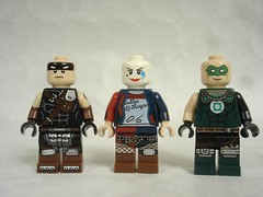 70840 - DC characters no stuff (fdsm0376) Tags: lego set review movie 70840 apocalypseburg welcome liberty statue postapoc emmet lucy wildstyle batman green lantern harley quinn scribble cop decay