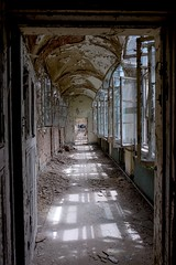 Insanatorium (Douguerreotype) Tags: berlin city abandoned derelict deutschland buildings urbex urban architecture hospital germany window