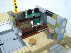 70840 - step2 cafe inside zoom (fdsm0376) Tags: lego set review movie 70840 apocalypseburg welcome liberty statue postapoc emmet lucy wildstyle batman green lantern harley quinn scribble cop decay
