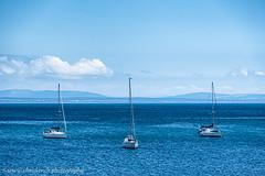 Cascais yachts (www.chriskench.photography) Tags: horizon boats sea coast three clouds cascais 18135 wwwchriskenchphotography travel sky xt2 kenchie europe fujifilm portugal lisboaregion